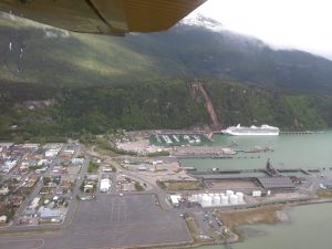 Port of Skagway, Alaska.