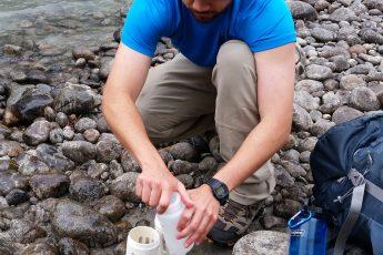 Eulachon Larval Sampling along the Nourse River.