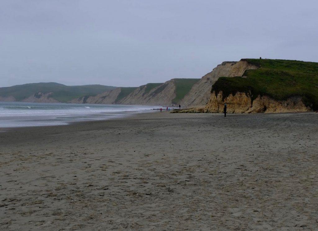 View along Drake's Beach