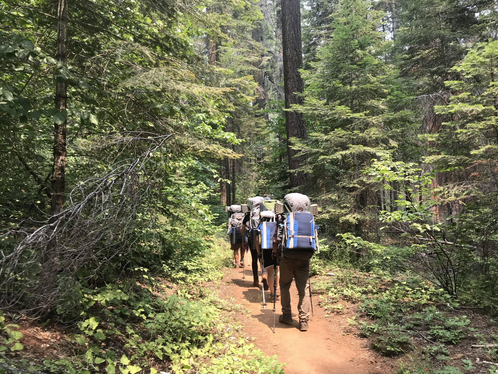 Backpacking at Kings Canyon National Park