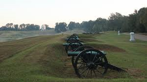 Cannons located in Vicksburg National Military Park